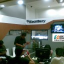 Booth Pameran Jakarta Counter BB Center Roxy 3
